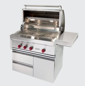 subzero gas grill