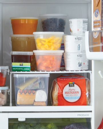 fridge shelf- Martha Stewart