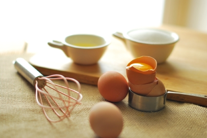 Cooking measuring and eggs